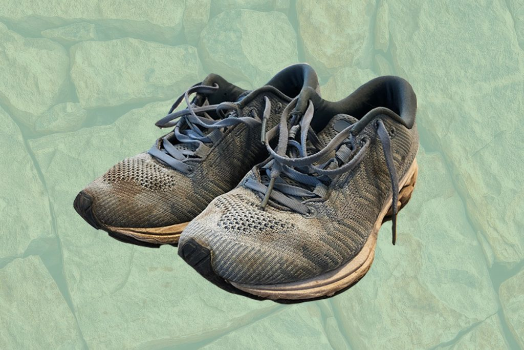 Shelly's running sneakers